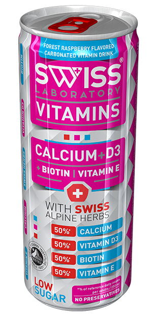 SWISS VITAMINS KALCIUM + D3