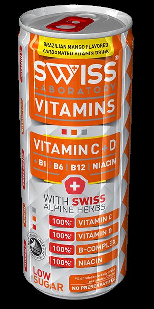 SWISS VITAMINS C-VITAMIN + D